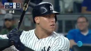 Every Aaron Judge Home run!! (Young Giancarlo Stanton)