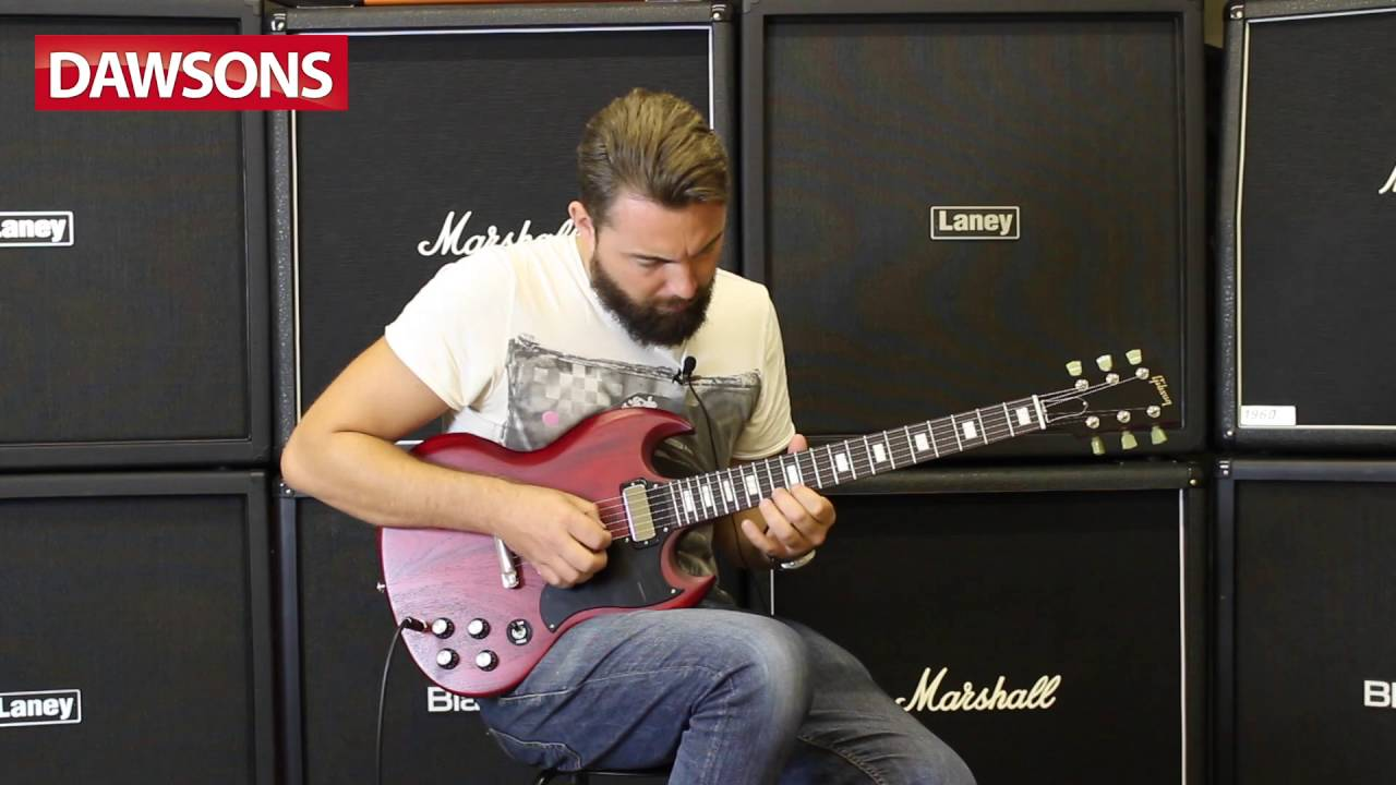 Gibson 2016 SG Special Traditional Review