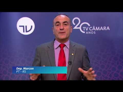 20 Anos TV Câmara: deputado Marcon (PT-RS)