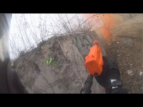 Smoke in the Pancakes - Magfed Paintball - Outlaw field: Cement