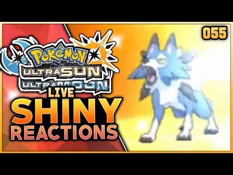LIVE SHINY LYCANROC REACTION! Pokemon Ultra Sun & Ultra Moon Shiny Pokemon Reaction!