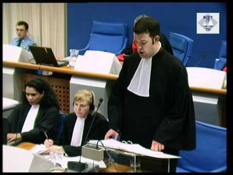 Initial Appearance - Milošević, Slobodan (Part 2/2) (Session 2) - 29 October 2001