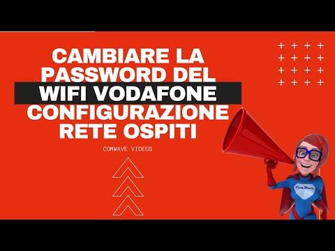 Come cambiare la password del WIFI Vodafone configurazione rete ospiti