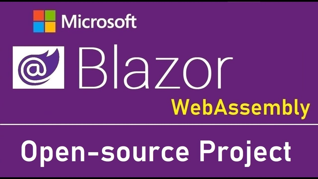 Blazor WebAssembly: Open-source Project