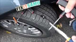 DIY How to Fix a Flat Tire EASY! thumbnail