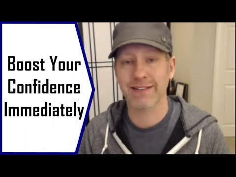 Boost Your Self Confidence Immediately with this Trick