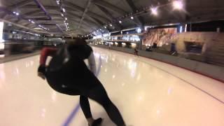 Longtrack Speedskating GoPro