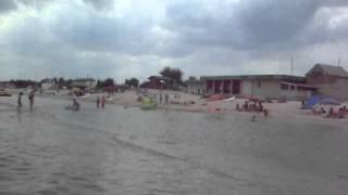 Море в Кирилловке. Федотова коса 20.07.15(, 2015-07-26T19:37:11.000Z)