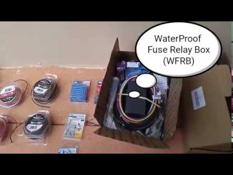 How to wire install (detailed 12-step) LED WFRB Waterproof Fuse
