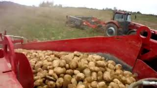 Spudnik 6621 AIRSEP harvester