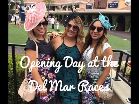 Del Mar Races, Opening Day 2018