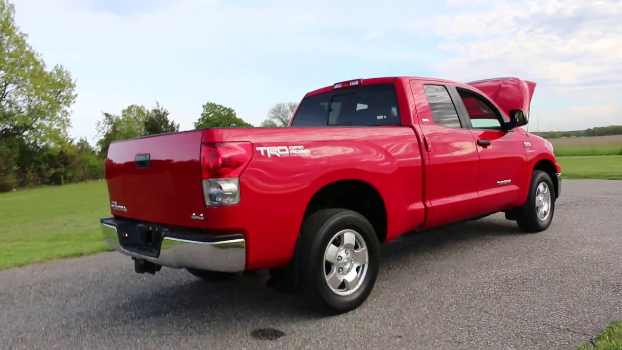 2008 toyota tundra double double cab sr5 trd 4x4 for sale. Black Bedroom Furniture Sets. Home Design Ideas