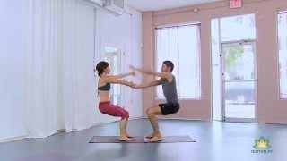 Yoga online - Acroyoga, acrobacia en parejas