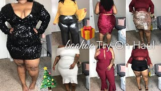 boohoo Holiday Try-On   with PASSION JONESZ!!! 😍   Plus Size 2017