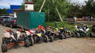 SUPER QUAD training, YAMAHA YFZ450R, BANSHEE 350, KTM505