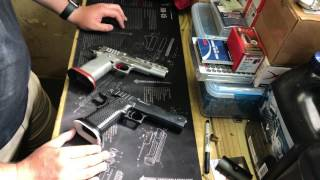 Pistol Comparison - Brazos Custom vs CK Arms Limited Guns