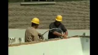 Нудура - Изливане на бетон(Видео инструкции за изолационни форми за бетон (още известни като термоблок или изолационен оставащ кофраж..., 2009-09-11T22:47:40.000Z)