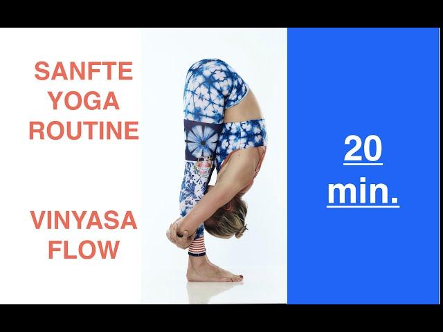 20min. Yoga-Routine | Sanfte Abfolge | Positiv, Beweglich & Gesund | Morgens /Abends | Yin-Yang-Yoga