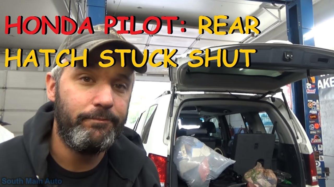 Honda Pilot Rear Hatch Stuck Shut Youtube Odyssey Transmission Wiring Diagram