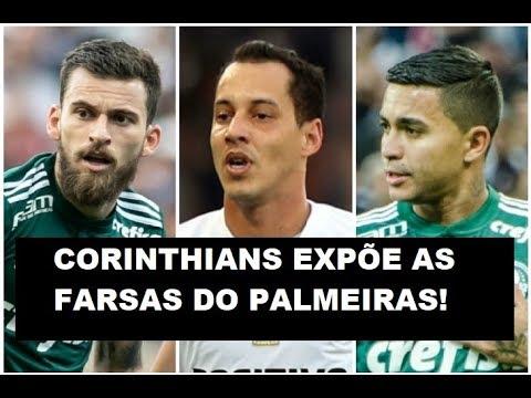 O Corinthians e a ARTE de EXPOR as FARSAS do Palmeiras!