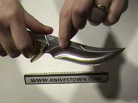 Buck Kalinga Pro Fixed Blade Hunting Knife.mpg