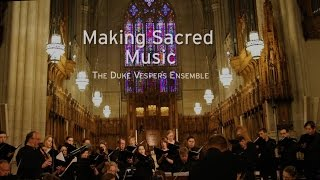 Making Sacred Music