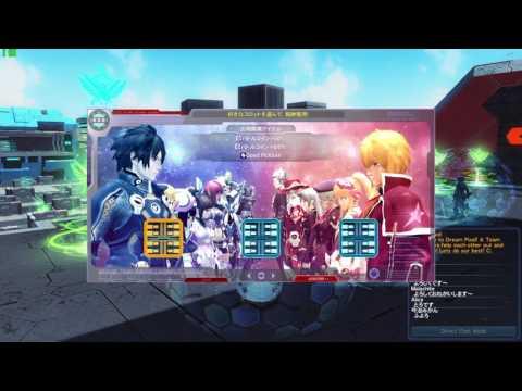 Phantasy Star Online 2 Pvp Gameplay Day 1