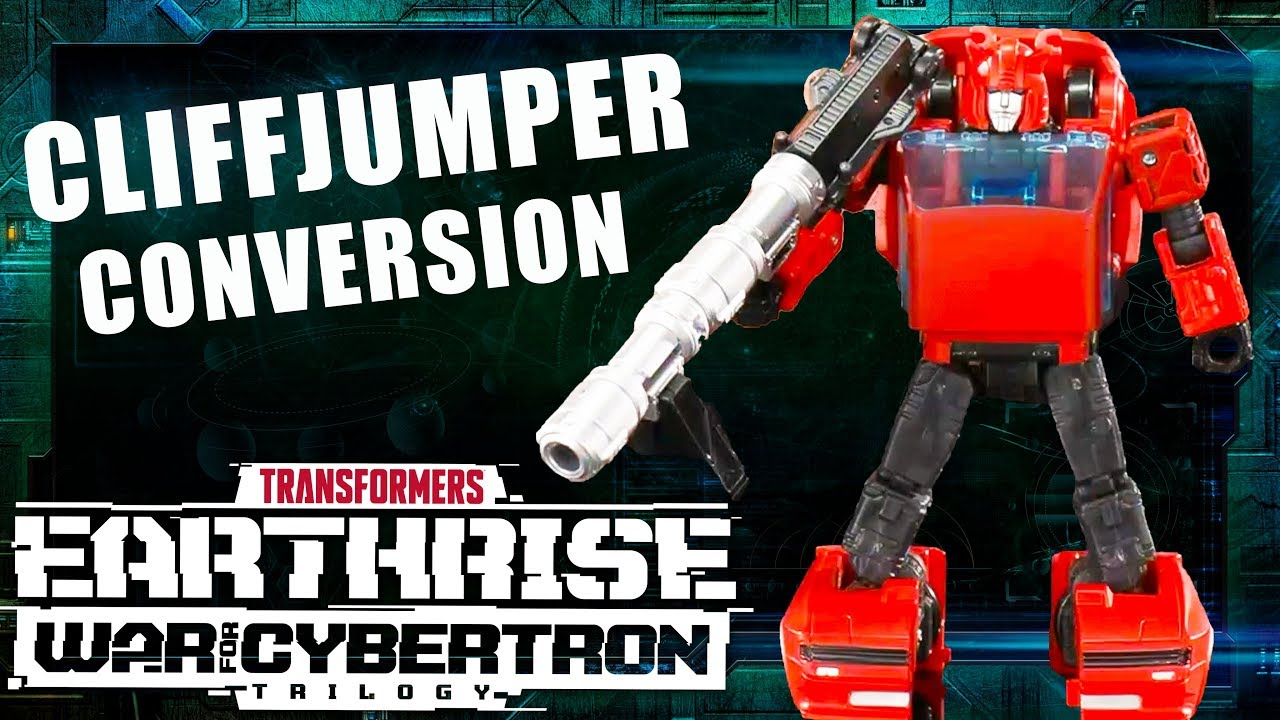 How to Convert Earthrise Cliffjumper Official Video