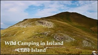 Wild Camping in Ireland - Clare Island
