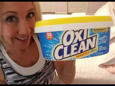 OxiClean as Laundry