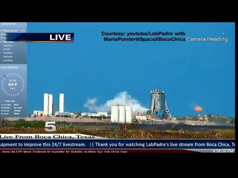 SpaceX Successfully Tests Starhopper At Boca Chica Beach