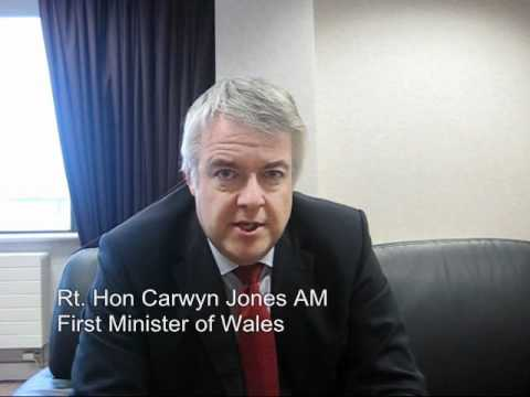 Carwyn Jones - First Minister of Wales