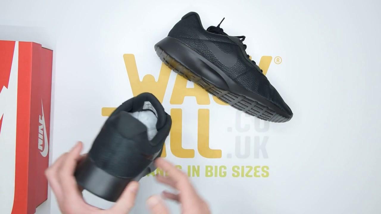 Nike Tanjun Premium - Black - Unboxing