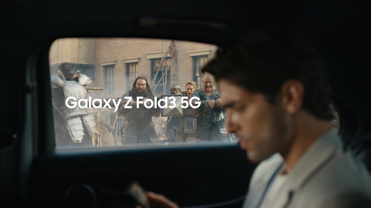 Galaxy Z Fold3 5G: Gập mọi giới hạn. Mở vạn tiềm năng | Samsung