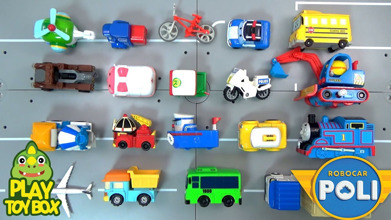 Learning Special Construction Vehicles Names for kids with Proro ...