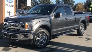 2018 Ford F-150 XLT XTR EcoBoost SuperCab W/ Backup Camera Review| Island Ford
