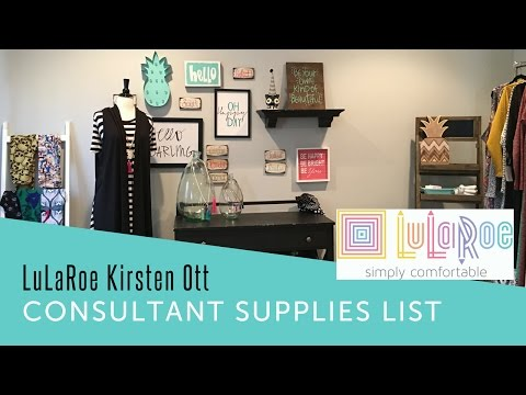 LuLaRoe New Consultant Supply List