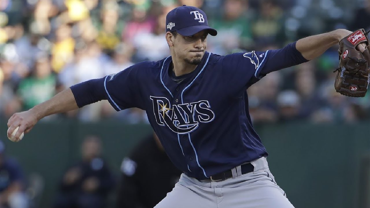 Charlie Morton's Strikes Out 4 In 5 Solid Innings   AL Wild Card Game (2019)