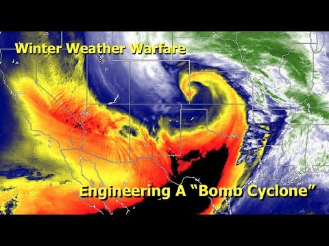 "Winter Weather Warfare, Engineering A ""Bomb Cyclone"""