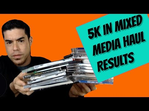 5k Swap Meet Media Haul Update Video with Training and advice for bulk buying and flipping online