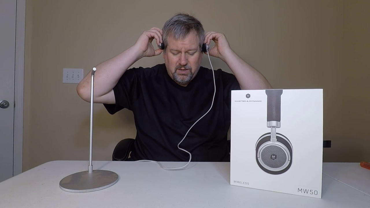 e7f16de5446 Master & Dynamic MW50 Wireless On-Ear Headphones Unboxing Review ...