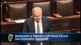 Pat Rabbitte T.D. - Statement Re Report on Off-Shore Oil and Gas Exploration