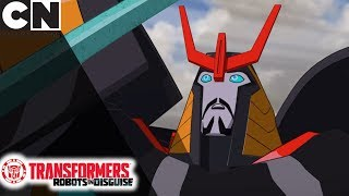 Transformers | A Flimsy Sword | Cartoon Network