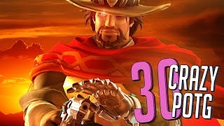 30 CRAZY PLAYS OF THE GAME #35 ►Overwatch Highlights Community Montage