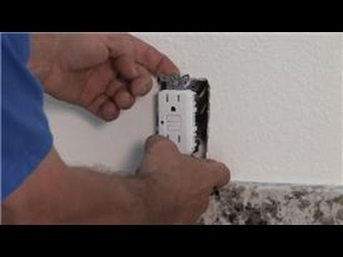 Household Electrical Wiring How To Replace A Gfci Outlet With