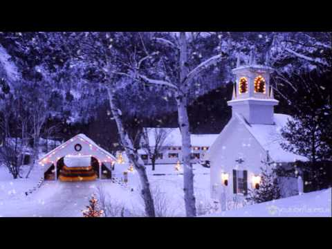 FREE Snow Motion Background - Church in the Snow HD - YouTube