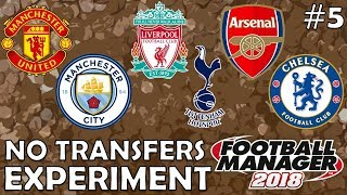 Premier League Top 6 Transfer Embargo!   Part 5   Football Manager 2018 Experiment