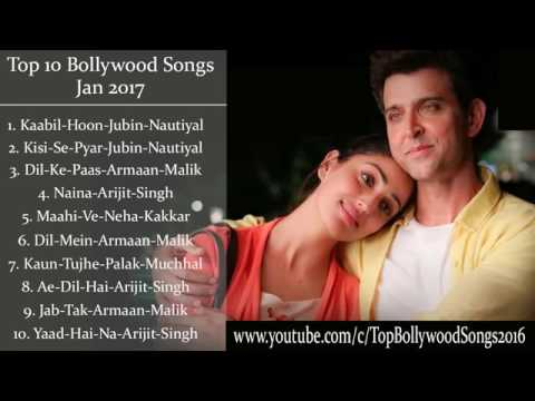 Best and Latest Bollywood Songs 2017 January 2017 New Songs Jukebox 2017  Hit Collection