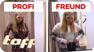 PARTNER vs. PROFI-STYLISTIN: Wer trifft den Geschmack der Freundin? | taff | ProSieben