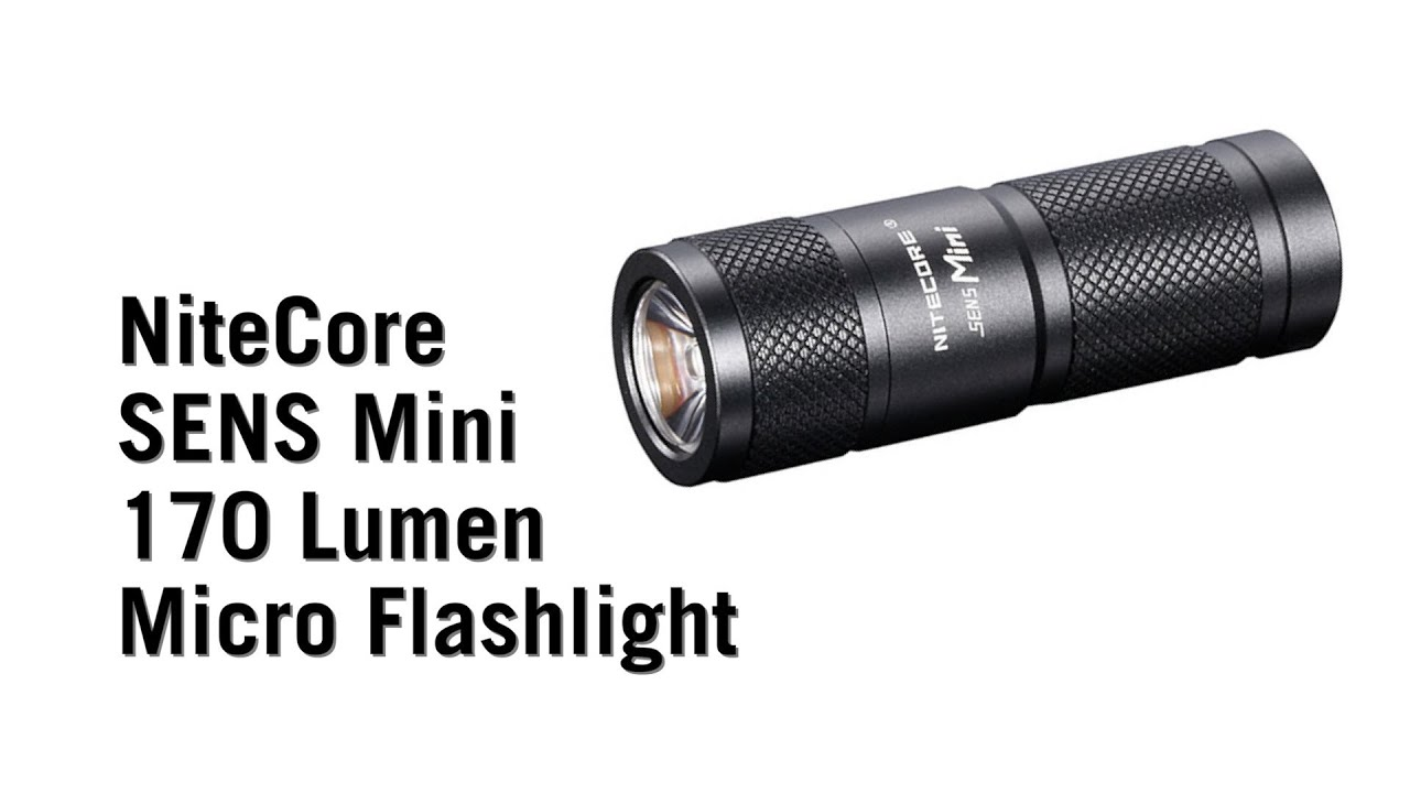 NiteCore SENS Mini 170 Lumen Micro Flashlight from ...